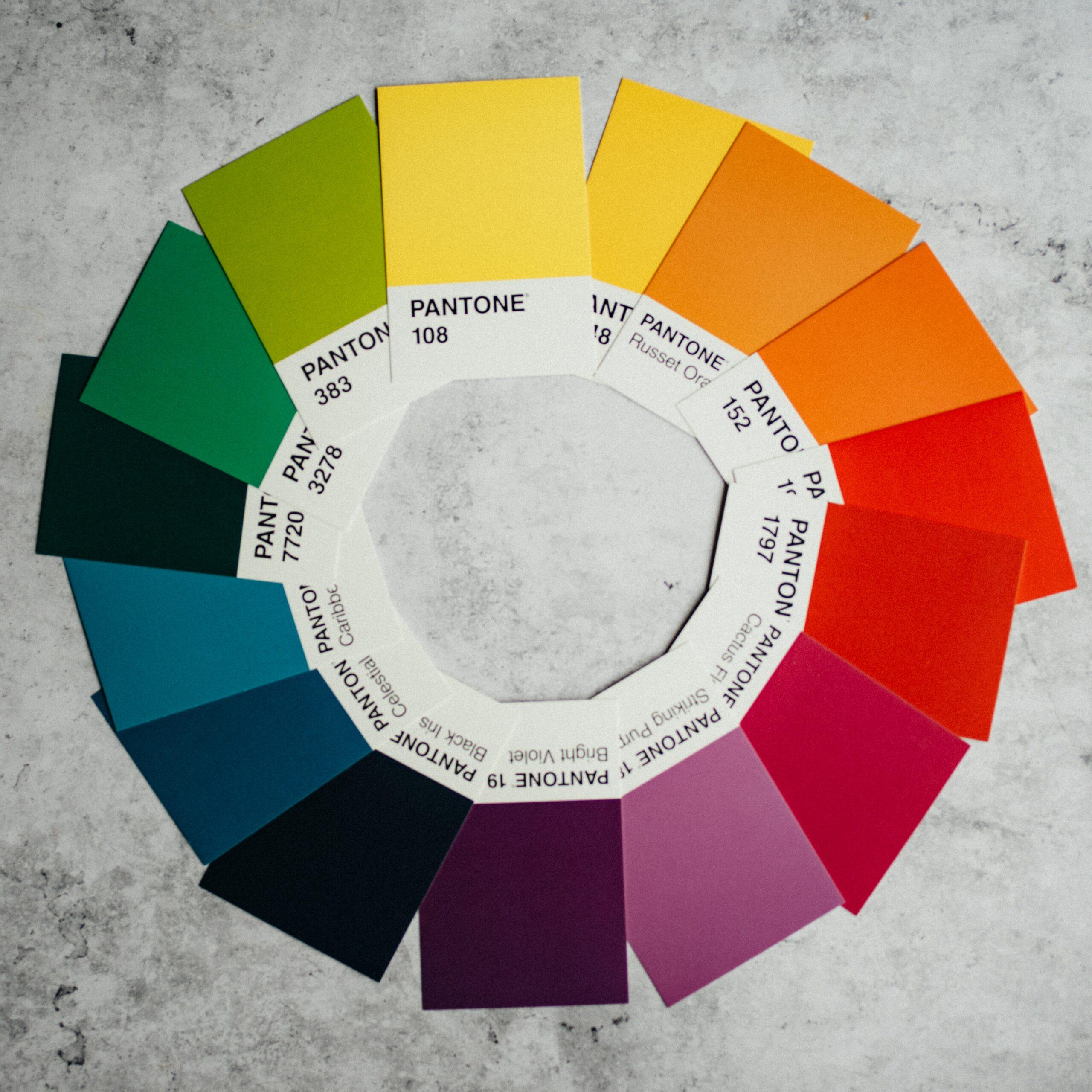 Как воспринимаются цвета использующиеся в дизайне блогов